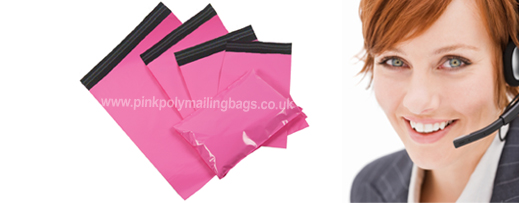 pink mailers